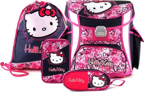 Školní set   4-dílný   Hello Kitty