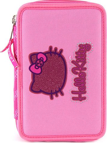 Školní penál | s náplní | Hello Kitty | růžový