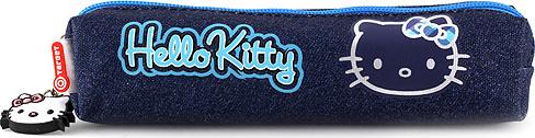 Školní penál mini Hello Kitty jeans