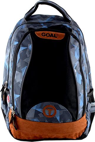 Goal Studentský batoh Target modro-šedý