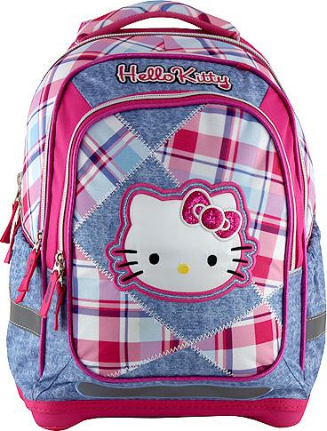 Školní batoh | Hello Kitty | kostky