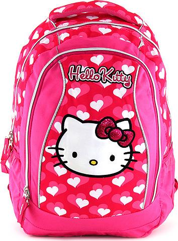 Školní batoh | Hello Kitty | růžový | 48x30x18cm