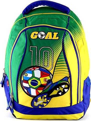 Batoh Goal zeleno-žlutý