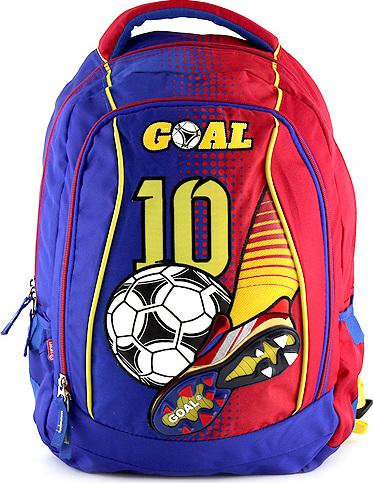 Skolni batoh goal modro cerveny levně  a7537aab81