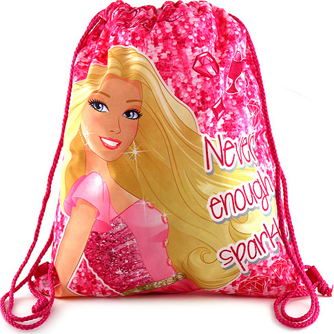 Sportovní vak | Barbie | růžový
