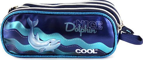 Školní penál | Target | Dolphin | modrá