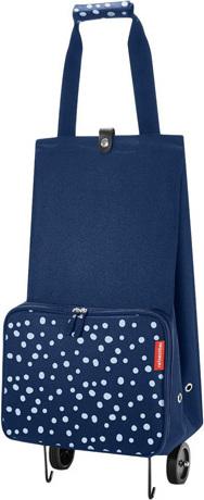 Nákupní taška | Reisenthel | foldabletrolley | Modrá s puntíky | skládací