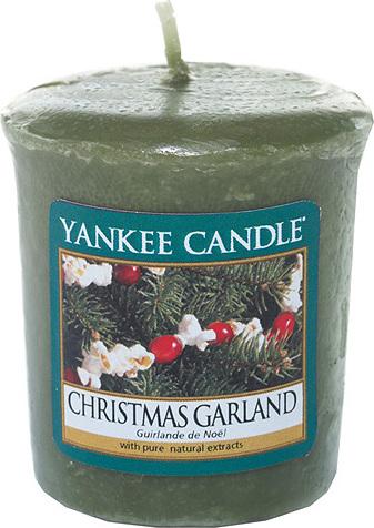 Svíčka | Yankee Candle | Vánoční věnec | 49g
