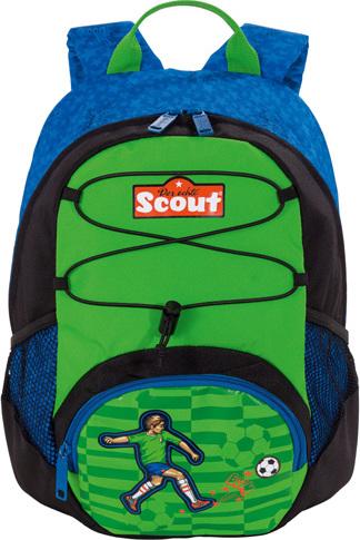 Dětský batoh | Scout | ergonomický | fotbalista