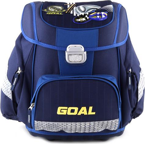 Skolni aktovka target 3d goal barva modra levně  34627f2007