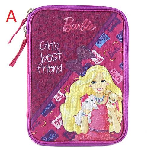 Školní penál | XXL | s náplní | Barbie Provedení: A