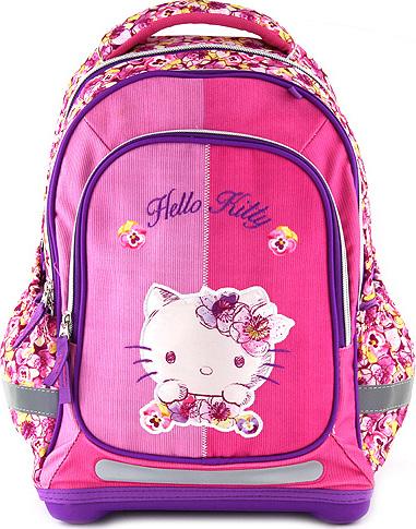 Školní batoh | Hello Kitty | květiny