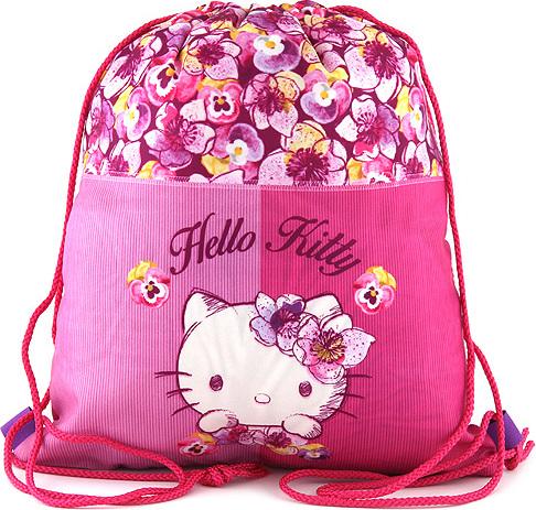 Sportovní vak   Hello Kitty   květiny