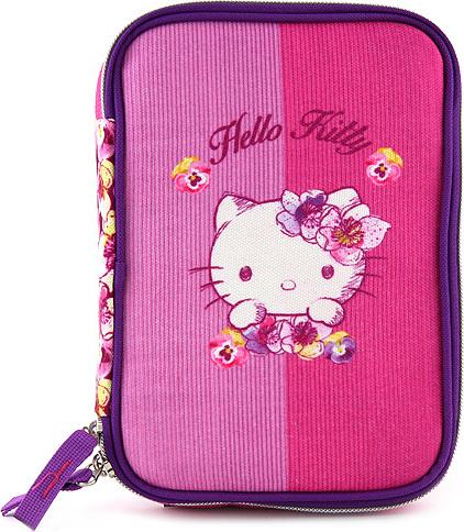 Školní penál | s náplní | Hello Kitty | 2 druhy Barva: růžová