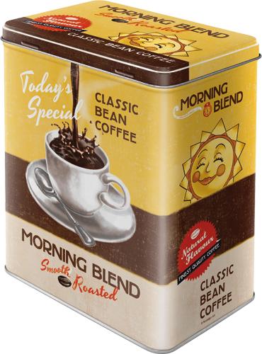 Nostalgic Art Dóza na potraviny Morning blend 14x20cm Rozměry: 14x20cm