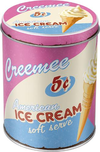 Nostalgic Art Dóza na potraviny Ice Cream 10x13cm Rozměry: 10x13cm
