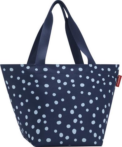 Nákupní taška | Reisenthel | Modrá s puntíky | Shopper M