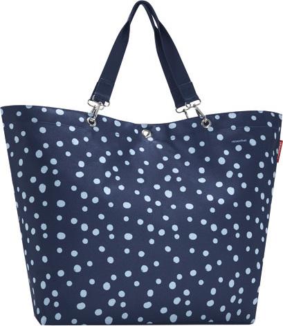 Nákupní taška | Reisenthel | Modrá s puntíky | Shopper XL