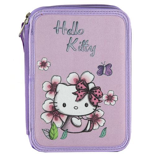 Školní penál | s náplní | Target | Hello Kitty | více barev Barva: fialová