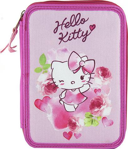 Školní penál | s náplní | Target | Hello Kitty | více barev Barva: růžová