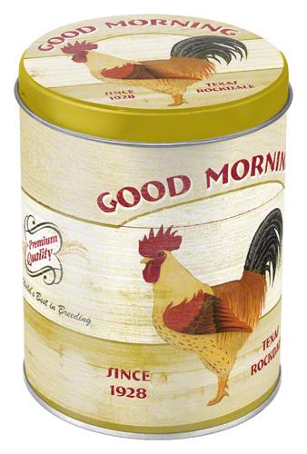 Nostalgic Art Dóza na potraviny Good Morning 10x13cm Rozměry: 10x13cm