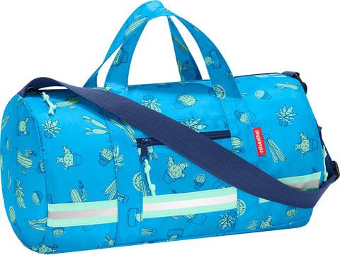 Sportovní taška   Reisenthel   mini maxi dufflebag   Modrý kaktus