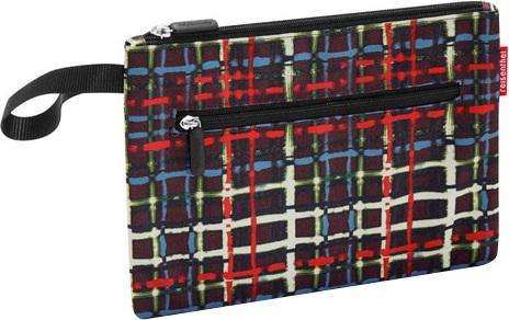 Kosmetická taška | Reisenthel | case 2 | Černá s barevnými proužky