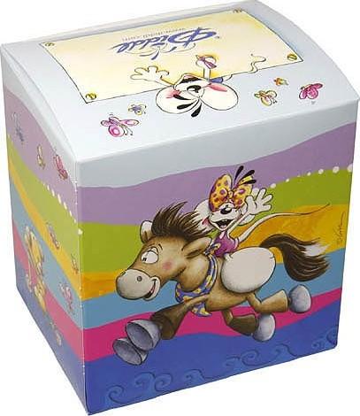 Krabička na hrnek   Diddl & Friends   na koni