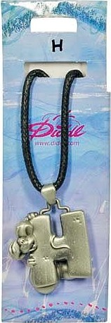 Diddl & Friends Náhrdelník abeceda Diddl Diddl - H, 006030