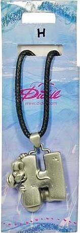Náhrdelník   Diddl & Friends   abeceda   H