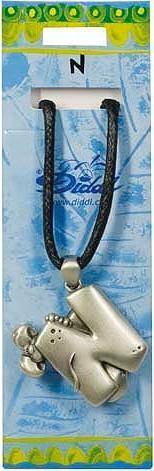 Diddl & Friends Náhrdelník abeceda Diddl Diddl - N, 006036