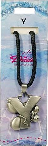 Diddl & Friends Náhrdelník abeceda Diddl Diddl - Y, 006972