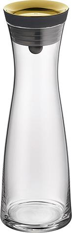 Karafa na vodu | WMF | Basic | sklo | 1l | zlaté víčko
