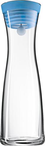 Karafa na vodu | WMF | Basic | sklo | 1l | modré víčko