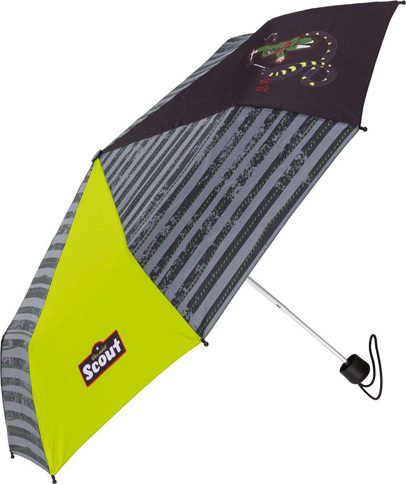 Deštník | skládací | Scout | Ninja a had | 90cm