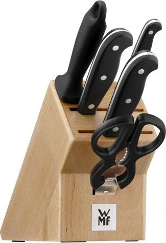 Sada nožů s blokem | WMF | Spitzenklasse Plus | 6-dílná NW852932