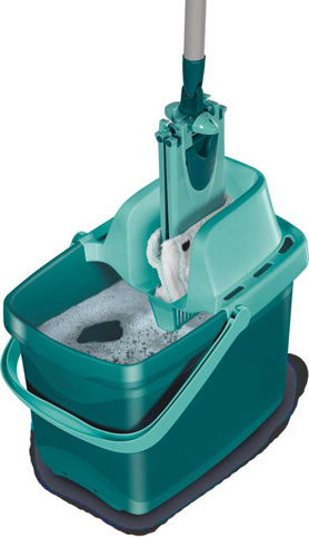 Úklidová sada   Leifheit   pro mytí podlah   bez kontaktu rukou a špinavé vody