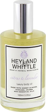 Masážní olej | Heyland & Whittle | Citrusy a levandule | 100ml