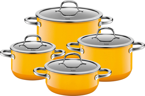 WMF Set hrnců Silit 4 dílný - set nádobí Passion Yellow