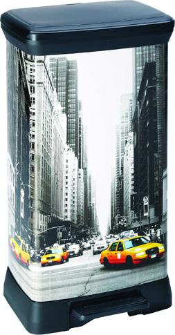 Odpadkový koš | Curver | Objem 50l | New York