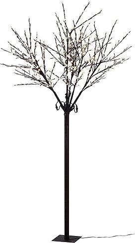Vánoční stromek Idena venkovní i vnitřní, LED, teplá bílá, 2,5m