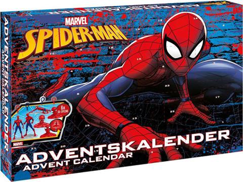 Adventní kalendář Craze Marvel: Spider-man, 24 ks