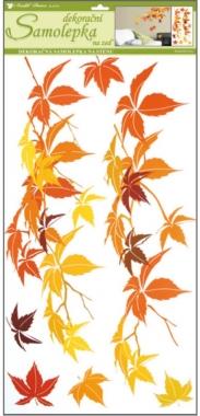 AP Samolepky na zeď podzimní listí 69x32cm