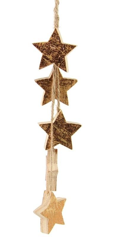 Harasim Závěsná dekorace | srdce | stromeček | hvězda S motivem: hvězda