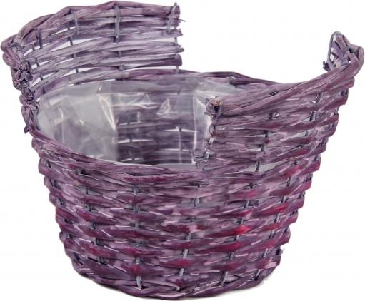 Ostatní Proutěný košík | fialový Barva: fialová HR107553/FIA