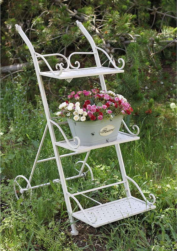 Artium Stojan na květiny | kovový | 34x16x81cm