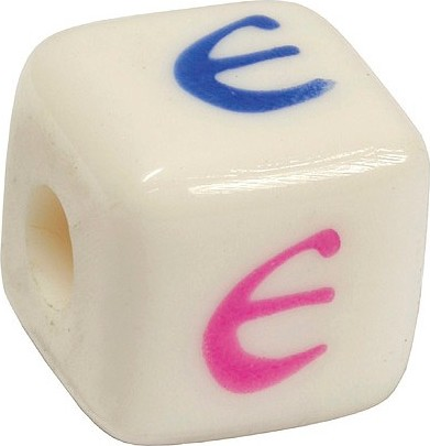Písmenkové kostky   Diddl & Friends   E