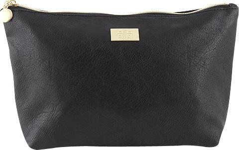 Kosmetická taška Elite Models ASST Černá se zlatým zipem
