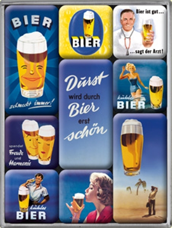 Nostalgic Art Magnetky na ledničku Bier