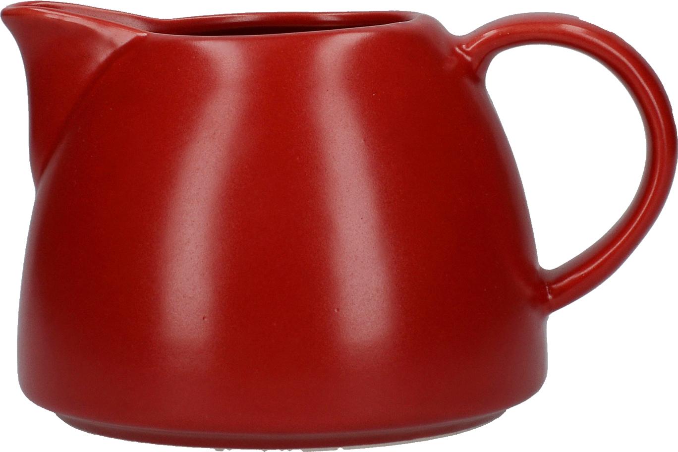 Creative Tops Keramická mléčenka Barcelona červená